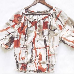 Nicola Fall Floral Blouse